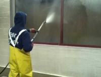 High Pressure Steam Cleaning