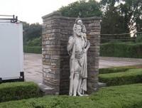 St. Joseph Statue before